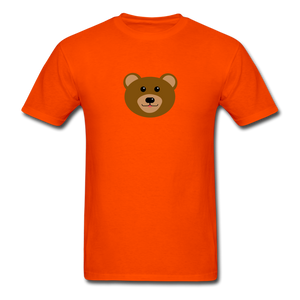 Cute Bear T-Shirt - orange
