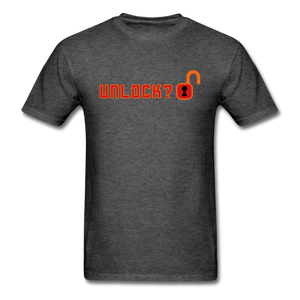 Unlock T-Shirt - heather black