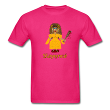 Load image into Gallery viewer, Slayoncé (Beyonce Parody)Halloween T-Shirt - fuchsia