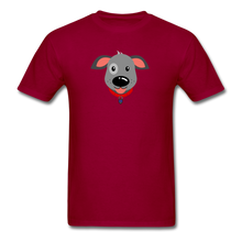 Load image into Gallery viewer, Puppy Power Pride T-Shirt - dark red