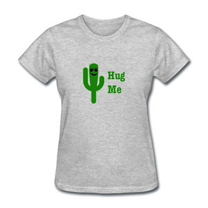 Hug Me Women's T-Shirt - heather gray
