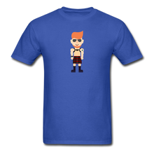 Load image into Gallery viewer, Kilt Daddy T-Shirt - royal blue