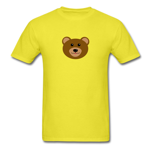 Cute Bear T-Shirt - yellow