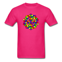 Load image into Gallery viewer, Kaleidoscope Pride  T-Shirt - fuchsia