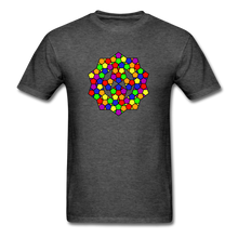 Load image into Gallery viewer, Kaleidoscope Pride  T-Shirt - heather black