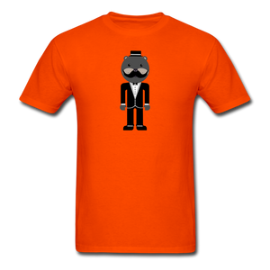 Formal Otter T-Shirt - orange