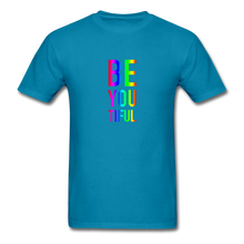 Load image into Gallery viewer, BE YOU TIFUL (Pride Colors) T-Shirt - turquoise