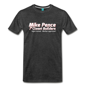 Mike Pence Closets T-Shirt - charcoal gray