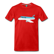 Load image into Gallery viewer, Flying Pig T-Shirt - red
