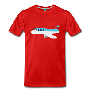 Flying Pig T-Shirt - red