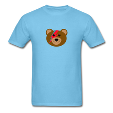 Load image into Gallery viewer, Bowie Bear T-Shirt - aquatic blue