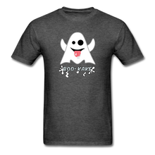 Load image into Gallery viewer, Boo-kake Halloween T-Shirt - heather black