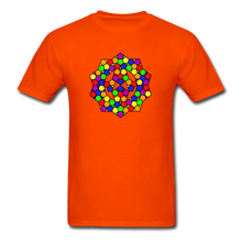 Load image into Gallery viewer, Kaleidoscope Pride  T-Shirt - orange