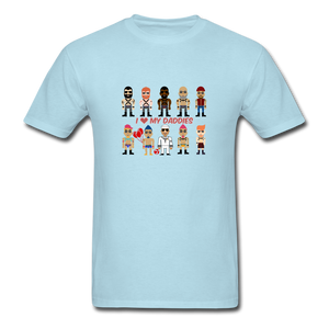I Love My Daddies Men's T-Shirt - powder blue