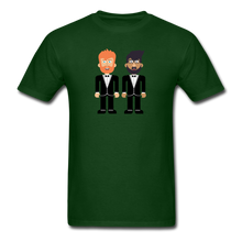 Load image into Gallery viewer, The Happy Couple T-Shirt - forest green