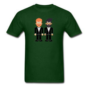 The Happy Couple T-Shirt - forest green