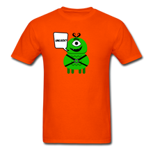 Load image into Gallery viewer, Flirty Alien T-Shirt - orange