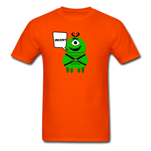 Flirty Alien T-Shirt - orange