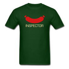 Load image into Gallery viewer, Wiener Inspector Men's T-Shirt - forest green
