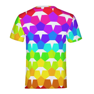 Geometric Pride Men's Tee - BravoPapa Clothing