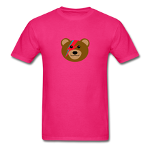 Load image into Gallery viewer, Bowie Bear T-Shirt - fuchsia