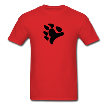 Load image into Gallery viewer, Bear Claw T-Shirt - red