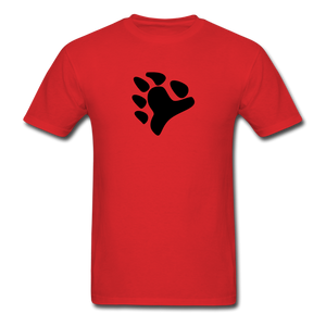Bear Claw T-Shirt - red