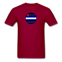 Load image into Gallery viewer, Leather Pride T-Shirt - dark red