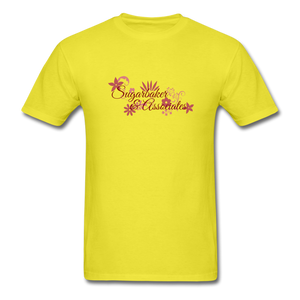 Designing Women Tribute Tee - yellow