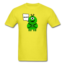 Load image into Gallery viewer, Flirty Alien T-Shirt - yellow