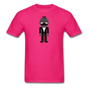 Formal Otter T-Shirt - fuchsia