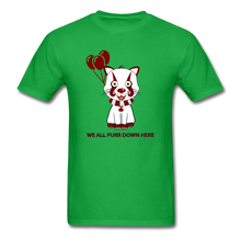 Load image into Gallery viewer, Kittywise (IT Inspired) Halloween T-Shirt - bright green