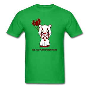 Kittywise (IT Inspired) Halloween T-Shirt - bright green