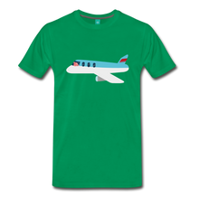 Load image into Gallery viewer, Flying Pig T-Shirt - kelly green