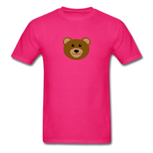 Load image into Gallery viewer, Cute Bear T-Shirt - fuchsia