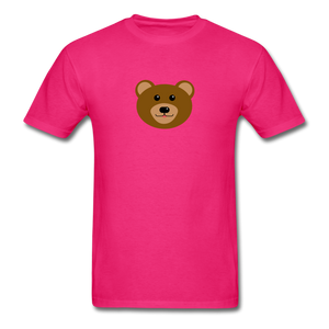 Cute Bear T-Shirt - fuchsia