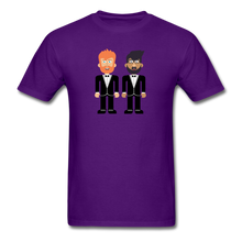 Load image into Gallery viewer, The Happy Couple T-Shirt - purple