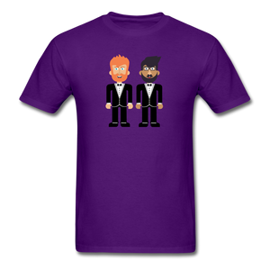 The Happy Couple T-Shirt - purple