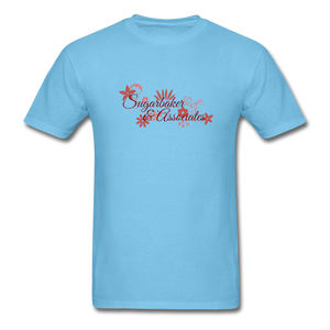 Designing Women Tribute Tee - aquatic blue