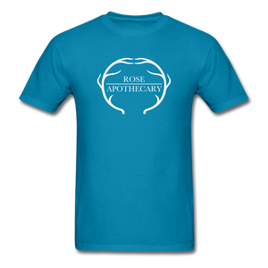 Rose Apothecary (Schitt's Creek) Men's T-Shirt - turquoise