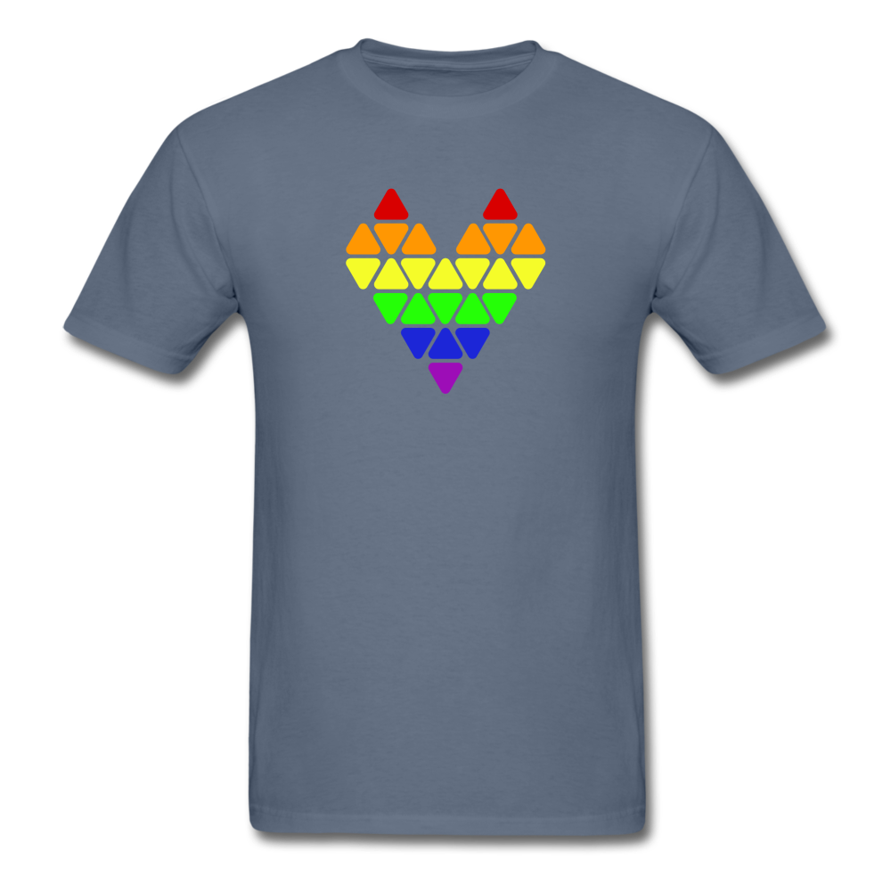 Pride Heart T-Shirt - BravoPapa Clothing
