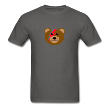 Load image into Gallery viewer, Bowie Bear T-Shirt - charcoal