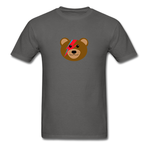Bowie Bear T-Shirt - charcoal