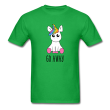Load image into Gallery viewer, Lonely Unicorn Men's T-Shirt - bright green