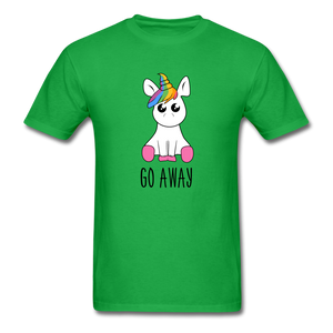Lonely Unicorn Men's T-Shirt - bright green