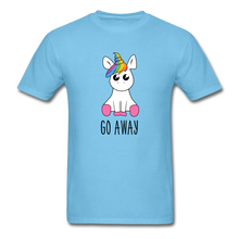 Load image into Gallery viewer, Lonely Unicorn Men's T-Shirt - aquatic blue