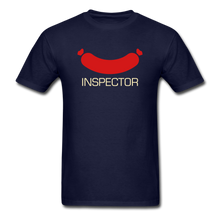 Load image into Gallery viewer, Wiener Inspector Men's T-Shirt - navy