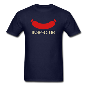 Wiener Inspector Men's T-Shirt - navy