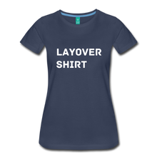 Load image into Gallery viewer, Layover Shirt Women's Cut - navy