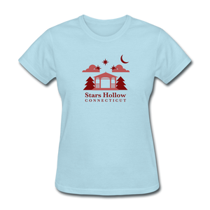Star's Hollow (Gilmore Girls) Women's T-Shirt - powder blue